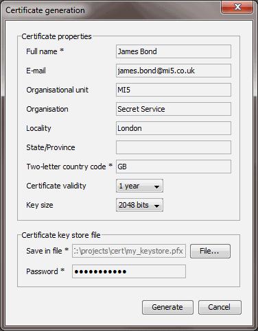 How to Generate Digital Certificate Using Keytool