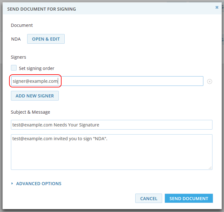 How to Send Documents Out for Signing - DigiSigner