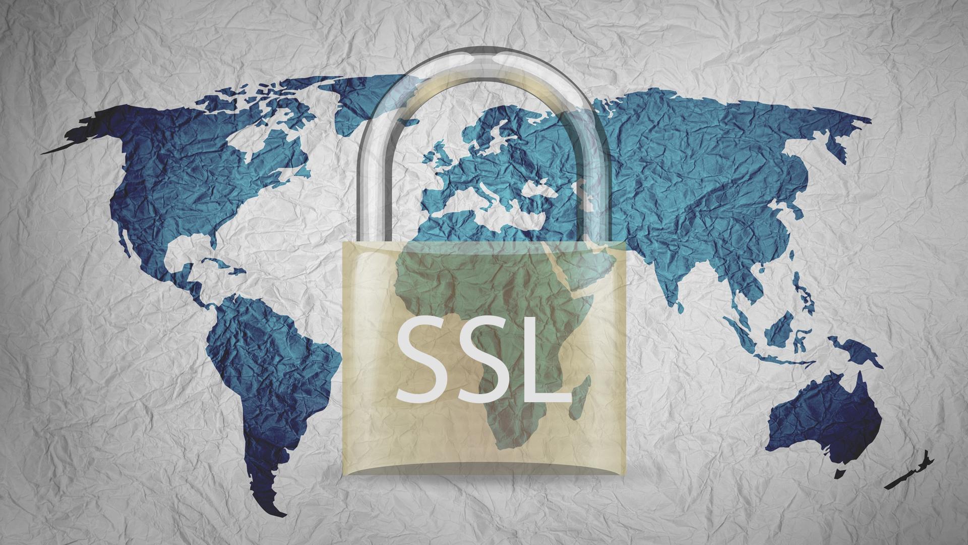 SSL - Data security of eSignatures