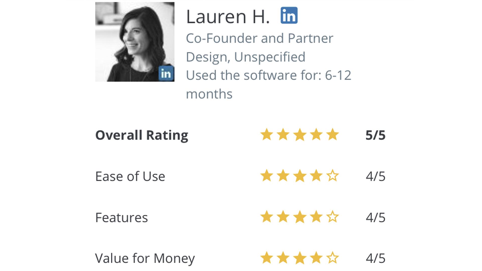 Lauren Capterra review for DigiSigner